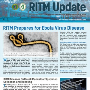Download RITMUpdate Volume 1 Issue 2, July – September 2014