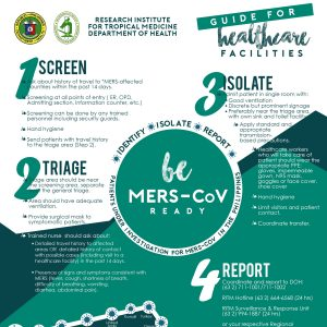 MERS-Cov Guide for healthcare facilities