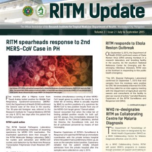 Download RITMUpdate Volume 2 Issue 2, July – September 2015