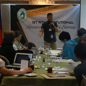 RITM sets research agenda to strengthen study groups
