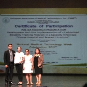 RITM wins 2nd Place in PAMET Research Forum and Poster Contest