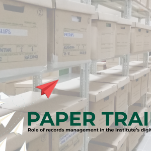 Paper trails: Role of records management in RITM's digital future