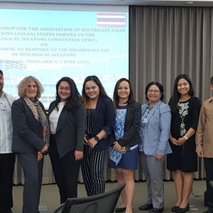 RITM joins ASEAN states in BWC regional workshop