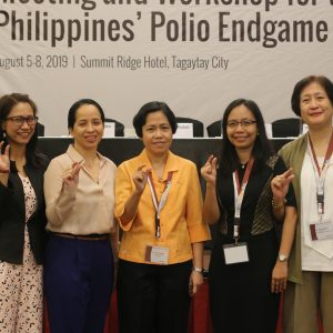 PH Polio Endgame Plan welcomes three new ES sites and introduces BRM