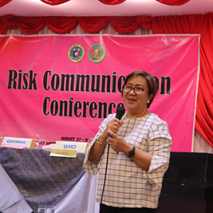 DOH-HPCS, DPCB gather HEPOs for Risk Comm Conference