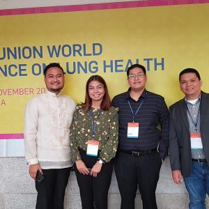 NTRL presents research in 50th Union World Conference