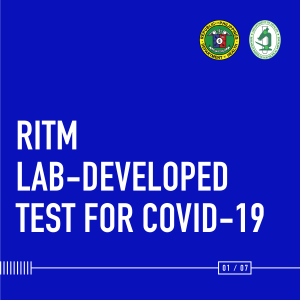 How does RITM perform COVID-19 testing?